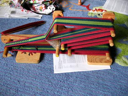 Weaving with an Inkle Loom