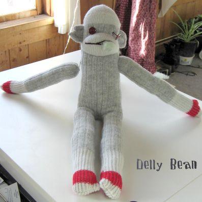 zombie-sock-monkey