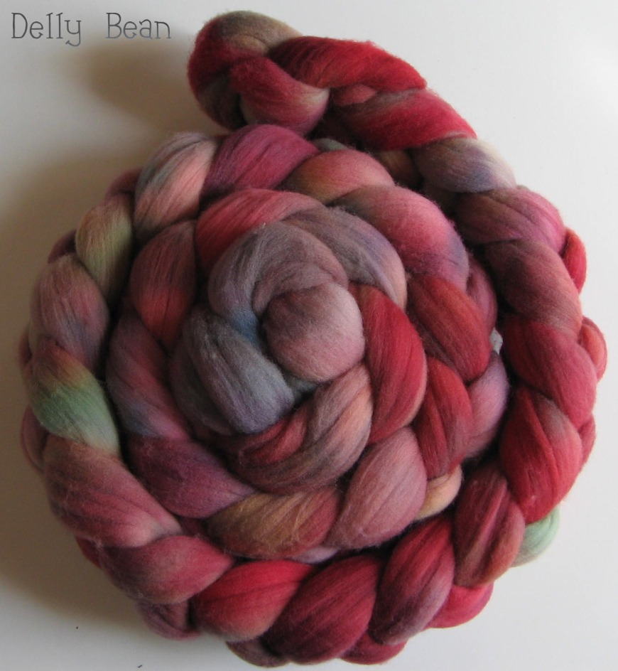 Dyed in the Dark Merino Roving